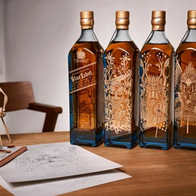 JOHNNIE WALKER BLUE LABEL GUERREROS 2015