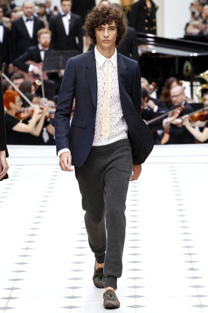 DAPPER BURBERRY LOOK 1