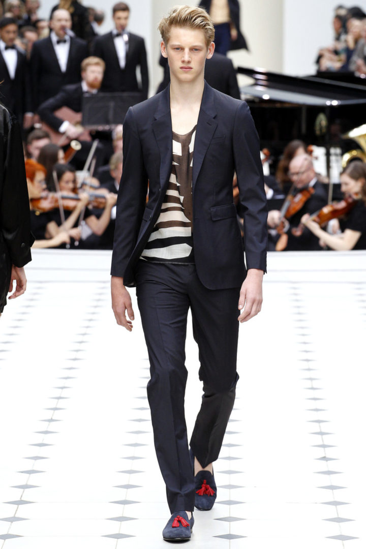 DAPPER BURBERRY LOOK 2