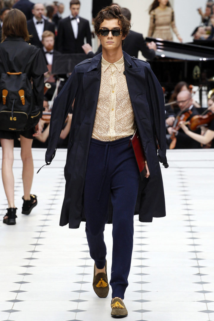 DAPPER BURBERRY LOOK 3