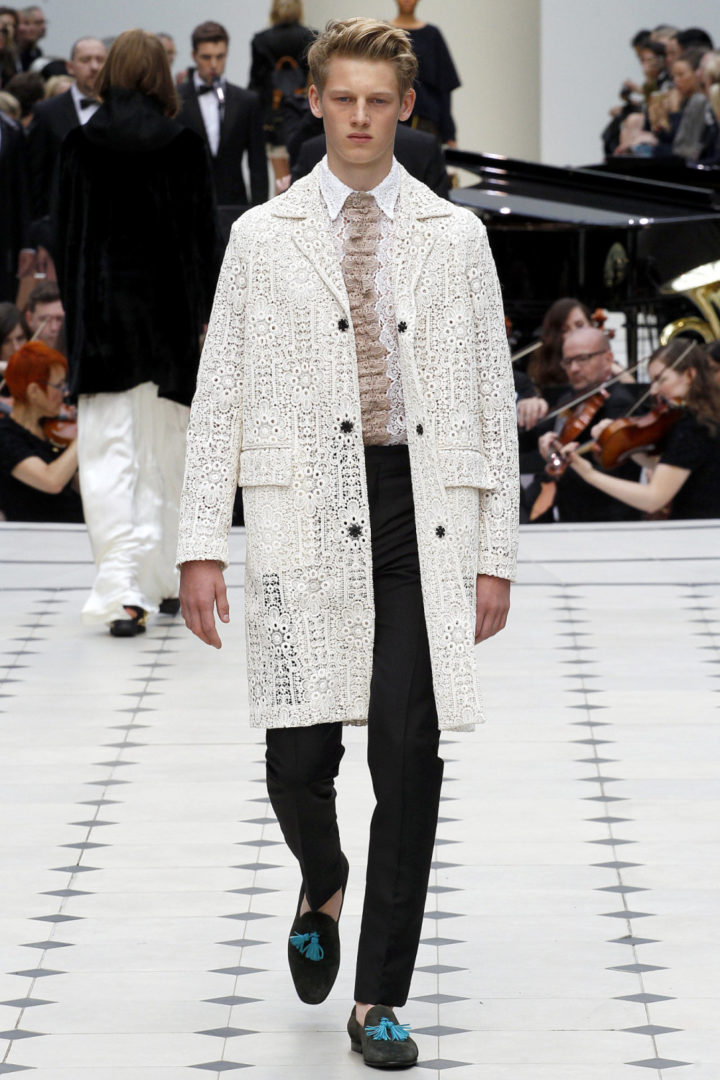 DAPPER BURBERRY LOOK 5