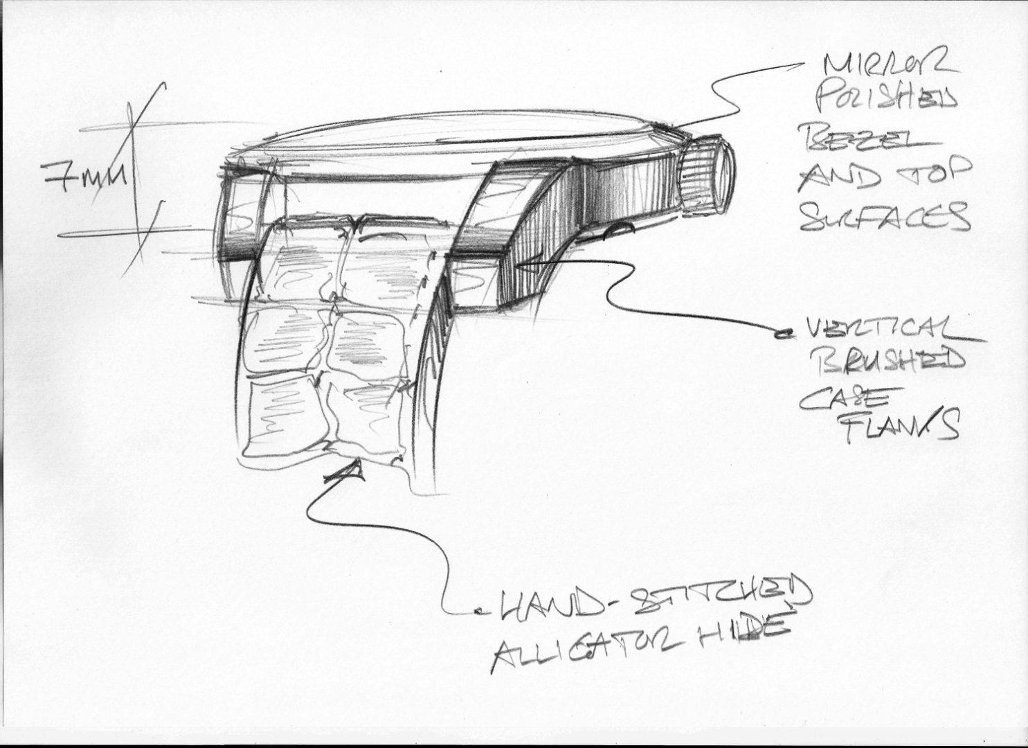 L.U.C XPS 1860 - Sketch 3 - Case details