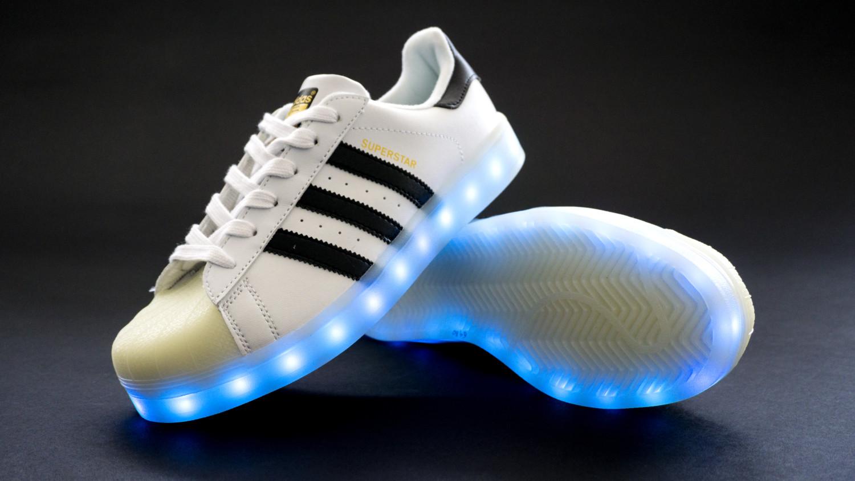 c7fe3b2b2d9 Adidas Superstar + Led