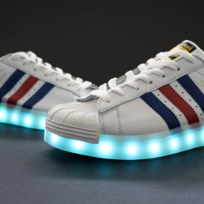 ADIDAS SUPERSTAR + LED