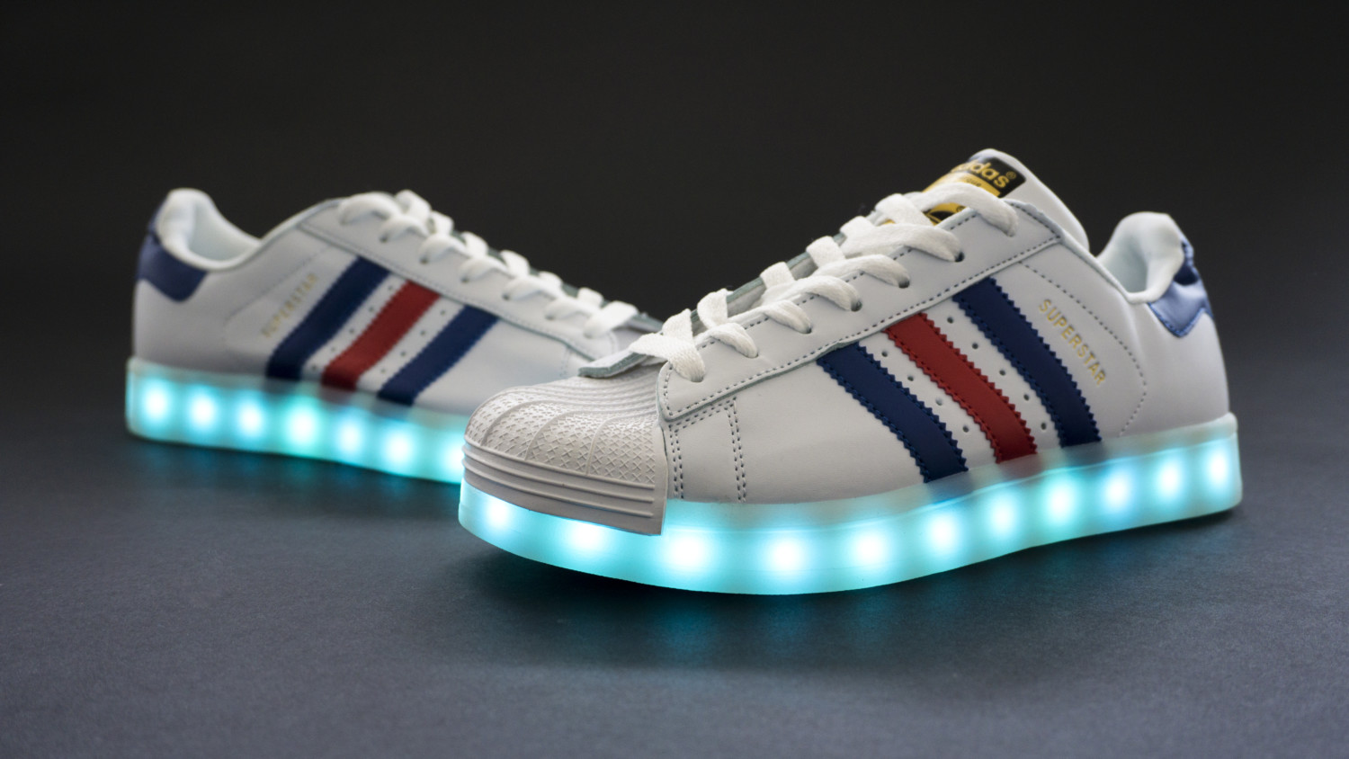 1df89428dfe Adidas Superstar + Led